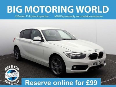 used BMW 118 1 Series D SPORT 2.0 5dr
