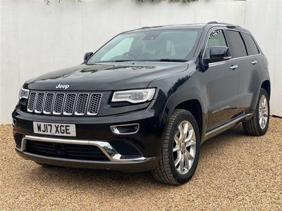 used Jeep Grand Cherokee 3.0 V6 CRD Summit Auto 4WD (s/s) 5dr