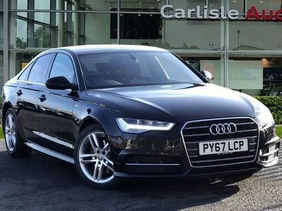 used Audi A6 S line 2.0 TDI ultra 190 PS 6-speed 4dr