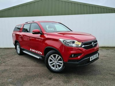 used Ssangyong Musso 2.2d Saracen Double Cab Pickup Auto 4WD EU6 4dr