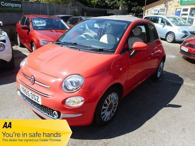 used Fiat 500C 0.9 TwinAir Lounge (s/s) 2dr