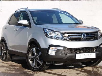used Ssangyong Korando 2.2D ELX Auto 4WD 5dr Automatic