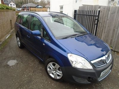 used Vauxhall Zafira EXCLUSIVE 7 SEATER