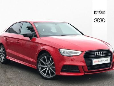 used Audi A3 2.0 TDI Black Edition 4dr