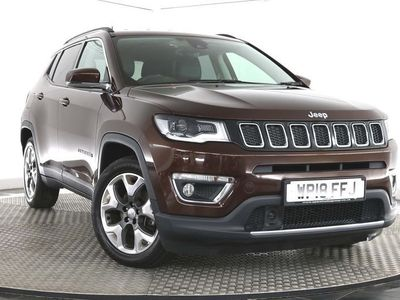 used Jeep Compass 1.6 MultiJetII Limited (s/s) 5dr