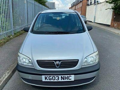 used Vauxhall Zafira 1.6 i 16v Club 5dr (a/c)