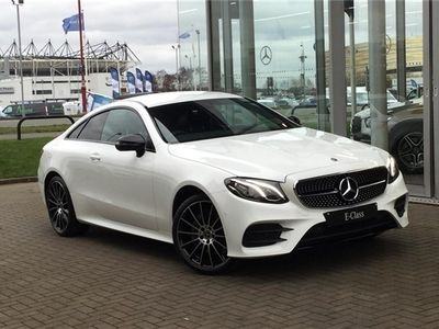used Mercedes E220 E CLASS DIESEL COUPE4Matic AMG Line 2dr 9G-Tronic