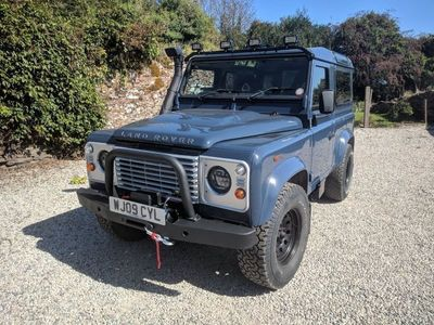 used Land Rover Defender 90 2.4 TDi County Hard Top 3dr