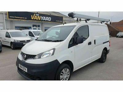 used Nissan NV200 1.5TD Acenta (89bhp) Panel Van