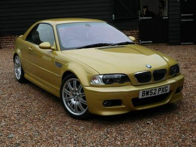 used BMW M3 Cabriolet 3.2 Sequential 2dr