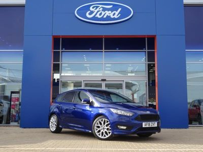 used Ford Focus 2018 Hardwick Industrial Estate 1.0 EcoBoost 125 ST-Line Nav 5dr Auto