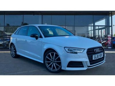 used Audi A3 Sportback 1.5 TFSI Black Edition 5dr S Tronic Petrol Hatchback special editions