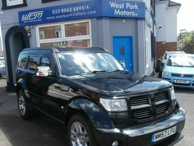 used Dodge Nitro 2.8 SXT TD 5d 175 BHP GREAT TOWING CAR, HUGE BOOT