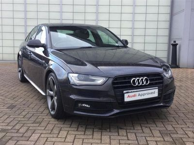 used Audi A4 2.0 Tdi 150 Black Edition 4Dr
