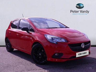 used Vauxhall Corsa Petrol 1.4 SRi Vx-line Nav Black 5dr