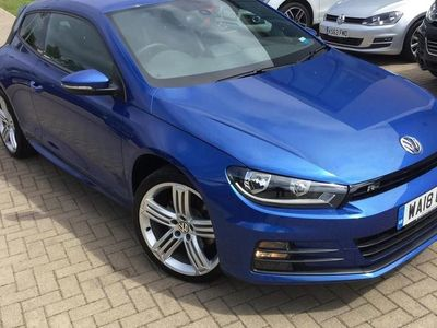 used VW Scirocco 2.0 TDI R-Line Black Edition 184PS DSG