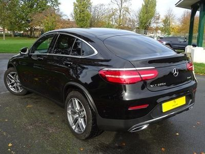 used Mercedes GLC220 GLC-Class Couped 4Matic AMG Line 9G-Tronic Plus auto (09/16-) 5d