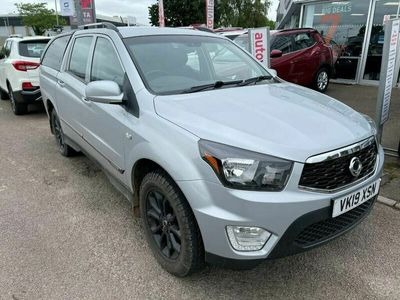 used Ssangyong Musso 2.2TD EX (178Ps) auto