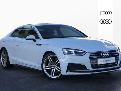 used Audi A5 40 TDI Quattro S Line 2dr S Tronic diesel coupe