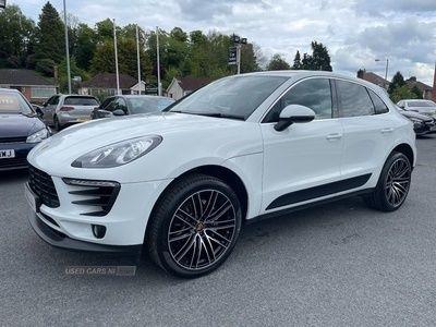 used Porsche Macan S D S-A