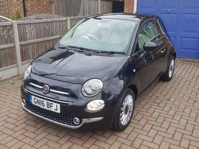 used Fiat 500 0.9 TwinAir Lounge (s/s) 3dr