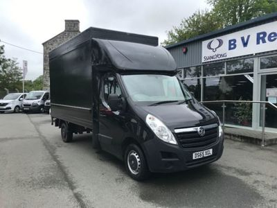 used Vauxhall Movano 2.3 Cdti H1 Chassis Cab 125Ps