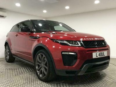 used Land Rover Range Rover evoque Coupe 2.0 TD4 HSE Dynamic Coupe 3d Auto