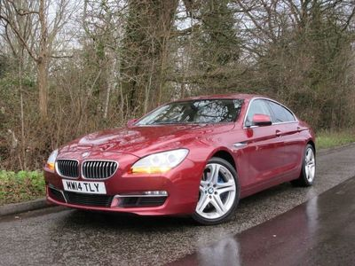 used BMW 640 6 SERIES 3.0 D SE GRAN COUPE 4d AUTO 309 BHP LIVE VIDEO CALLS, FINANCE AVAILABLE