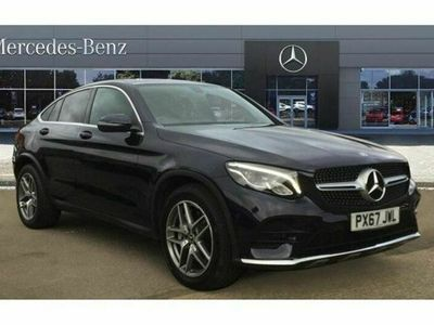 used Mercedes 220 GLC Coupe GLC4Matic AMG Line 5dr 9G-Tronic Diesel Estate
