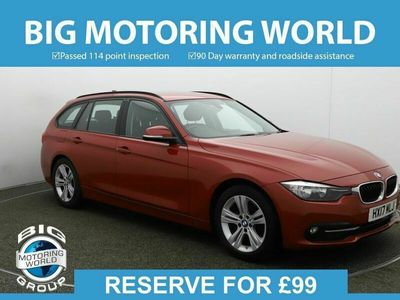 used BMW 320 3 Series D ED SPORT TOURING for sale | Big Motoring World