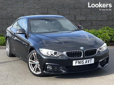 used BMW 420 4 SERIES DIESEL COUPE d M Sport 2dr