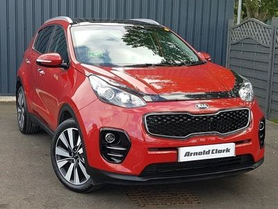 used Kia Sportage 1.7 CRDi ISG 3 5dr DCT Auto [Panoramic Roof]