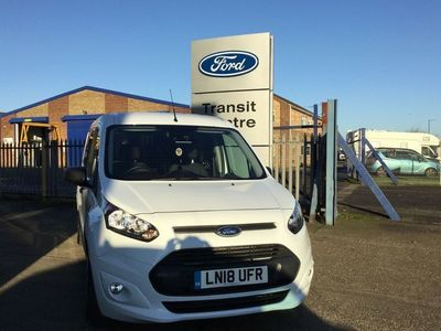 used Ford Transit Connect 1.5 Tdci 120Ps Trend Van Powershift