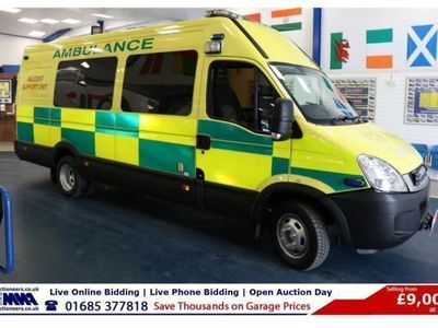 used Iveco Daily 3.0D 170PS 5.2TON 9 SEAT INCIDENT SUPPORT VEHICLE, 2011, not known, 140000 miles.