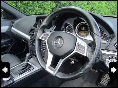 used Mercedes E250 E Class 2.1CDI BlueEFFICIENCY Sport Cabriolet G-Tronic 2dr