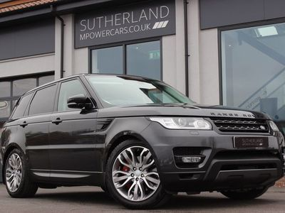 used Land Rover Range Rover Sport 3.0 SD V6 HSE Dynamic CommandShift 2 4X4 (s/s) 5dr