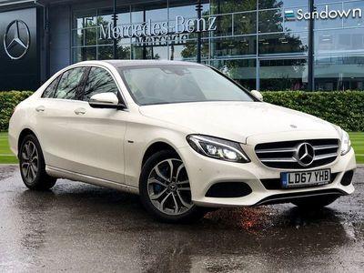 used Mercedes C350e C-ClassSport Premium Plus 4dr Auto