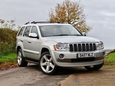 used Jeep Grand Cherokee 3.0 CRD V6 Overland 4x4 5dr