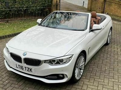used BMW 420 4 Series 2.0 d Luxury 2dr