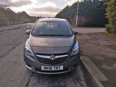 used Vauxhall Meriva 1.4 i 16v Life 5dr