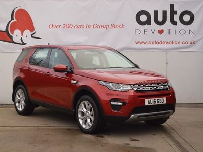 used Land Rover Discovery Sport 2.0 TD4 HSE Euro6 (180bhp) 2.0 5dr