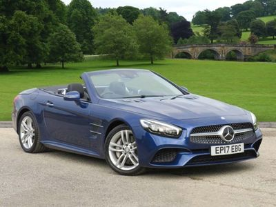 used Mercedes SL400 SL CLASSEdition 2dr 9G-Tronic Convertible 2017