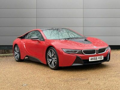 used BMW i8 Protonic Red Edition