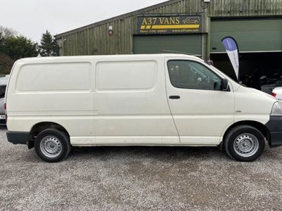 used Toyota HiAce 300 LWB P/V D-4D 120 AIR CON JUST ARRIVED AWAITING VALET/PREPARTION IDEAL C, 2010, Van, 99000 miles.