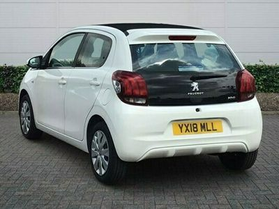 used Peugeot 108 1.0 Active (72ps) TOP! 5d