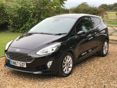 used Ford Fiesta 1.0T EcoBoost Titanium (s/s) 3dr