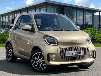 used Smart ForTwo Electric Drive FORTWO COUPE 60Kw Eq Prime Exclusive 17Kwh 2Dr Auto [22Kwch] coupe