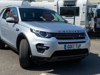 used Land Rover Discovery Sport TD4 SE TECH Estate 2017