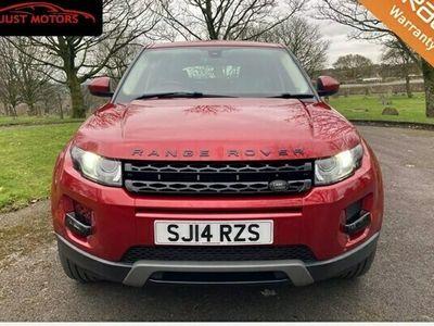 used Land Rover Range Rover evoque Estate 2.2 SD4 Pure (9speed) Hatchback 5d Auto