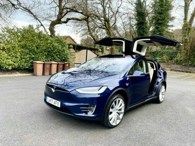 used Tesla Model X 100D Dual Motor Auto 4WDE 5dr